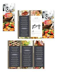 To Go Menu Templates To Go Menu Template Restaurant Word Landscape Bar Psd Mediaschool Info
