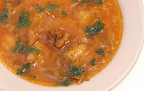 Dieta de slabire cu supa de varza - 7 zile - 5-7