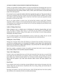 top rules for writing a good analysis essay how to write basic   10 tools to help your students write better essays by paul dylan how a basic essay