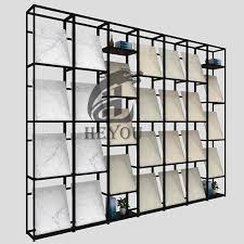independent ceramic tile display rack a 010