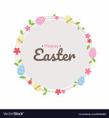 Easter Egg Hunt Poster Cute Invitation Card