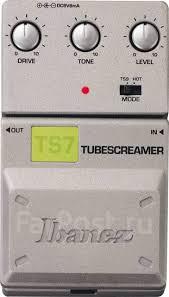 Гитарная <b>педаль эффектов Ibanez Tube</b> Screamer TS7 (Магазин ...
