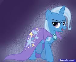 how to draw trixie trixie from my little pony