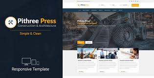 Construction Website Templates Gorgeous DEVThemes's Profile On ThemeForest