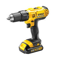dewalt screw gun. dewalt xr cordless 18v 1.3ah li-ion combi drill 1 battery dcd776c1-gb | departments diy at b\u0026q dewalt screw gun