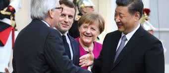 Macron et Merkel esquissent un front européen face à la Chine - Le Point