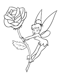 Tinkerbell Coloring Pages Tinkerbell Coloring Pages Coloring Page