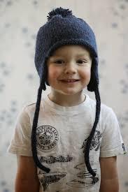 Earflap Hat Knitting Pattern Adorable All In The Family Earflap Hat AllFreeKnitting