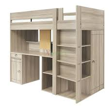 loft beds log loft bed with desk largo bunk closet and storage by beds