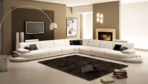 luxury contemporary leather sectional sofa 954 contemporary white italian
