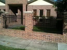 Small Picture Modern Brick Fencing Designs thesouvlakihousecom