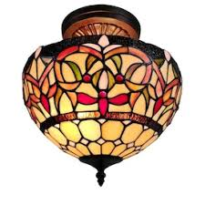 <b>Stained glass Pendant Lighting</b> at Lowes.com