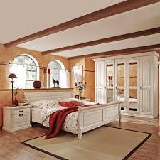 Schlafzimmer Komplettset Lourette in Weiß | Pharao24.de
