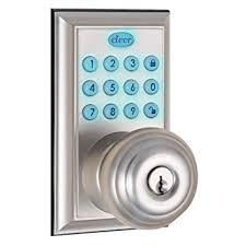 keypad front door lockClevr Indoor  Outdoor Electronic Keypad Keyless Entry Door Lock