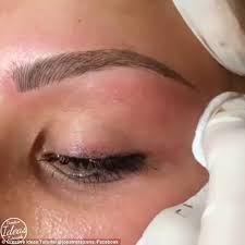 eyebrow shading permanent. fine lines: the pigment is etched in to skin and creates a natural looking eyebrow shading permanent