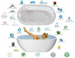 combination gives you the ultimate experience of both the hydro massage jets and the air bath