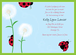 DIY PRINTABLE Invitation Card Red Lady Bug Baby ShowerFree Printable Ladybug Baby Shower Invitations