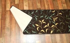 rubber back rugs rubber backed rugs runners