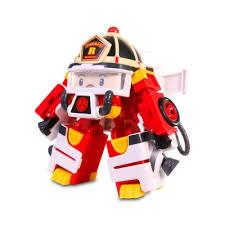 <b>Трансформер Silverlit</b> 83313 POLI Рой, 10 см + <b>костюм</b> астронавта