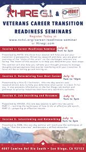 Career Transition Readiness Seminars Us Veteran And Military