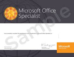 Microsoft Office Certification Mos Welkin Systems Limited