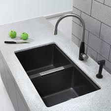 kraus kitchen sink series kgu434b lifestyle view