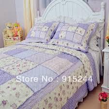 Find More Information about cotton handmade patchwork ruffle ... & Find More Information about cotton handmade patchwork ruffle quilting  2/3pcs set water wash purple Adamdwight.com