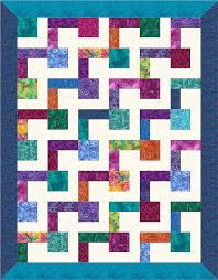 190 best Quilting - Easy Quilts for Gifts images on Pinterest ... & Quilts don't get much easier to make than when one uses a block with Adamdwight.com