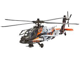 Revell Germany Ah 64d Longbow Apache Helicopter Kit