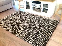 ikea hampen rug red high pile wool designs rugs