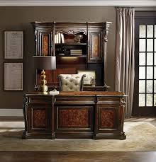 Amazon Hooker Furniture Grand Palais Executive Desk in Dark