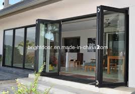 china aluminium bifold decorative door bi folding doors cost china aluminum folding door aluminium bifold door