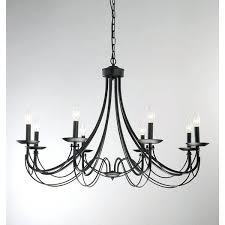 the gray barn calloway hill iron 8 light black chandelier black iron chandelier black wrought