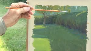 landscape painting techniques plein air dvd with ian roberts jackson s art supplies