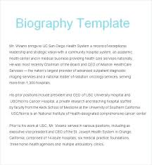 Employee Bio Template Executive Bio Template Speaker Bio Template Professional Examples