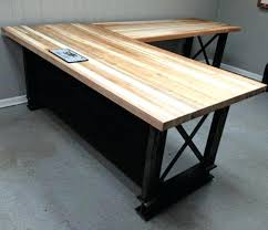 custom made office desks. Custom Built Office Desk Epic Iron Age Industrial Furniture Desks Also Made E