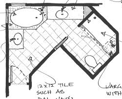 Triangle Bathroom Floor Plan   Art gestalt   Pinterest   Bathroom ...
