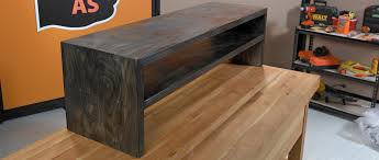 You could use this unit as a coffee table or you could make it smaller and  turn it into a bed side table.