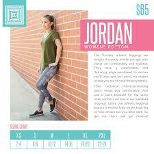 Size Chart Size Lularoesizechart Lularoe Jordan