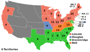 1860 United States Presidential Election Wikipedia