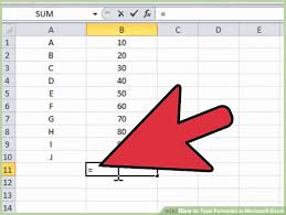 image titled type formulas in microsoft excel step 1
