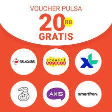 Cara mendapatkan pulsa gratis telkomsel lainnya Voucher Pulsa Rp 20 000 Shopee Indonesia