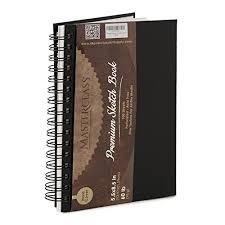 mastercl premium 5 5 inch by 8 inch spiral bound hardcover