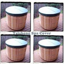 china round outdoor spa cover hot tub cover made in china
