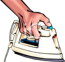 ironing clothes clipart. Delighful Clothes Person Using An Iron For Ironing Clothes Intended Clipart