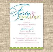 25th birthday party invitation ideas 40th bday party invitations awesome