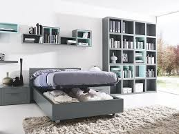 Modern Italian Bedroom Furniture Design of Aliante Single Zone Bed