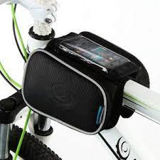 Tront <b>Bicycle Bike Mobile Phone</b> Frame <b>Bag</b> Top Tube <b>Bag Bike</b> ...