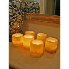 Set of 6 Egyptian Alabaster Votive Candle Holders (Egypt) - Free Shipping  Today - Overstock.com - 16489659