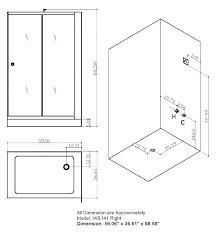 standard shower door height sensational doors sizes width interior design 12